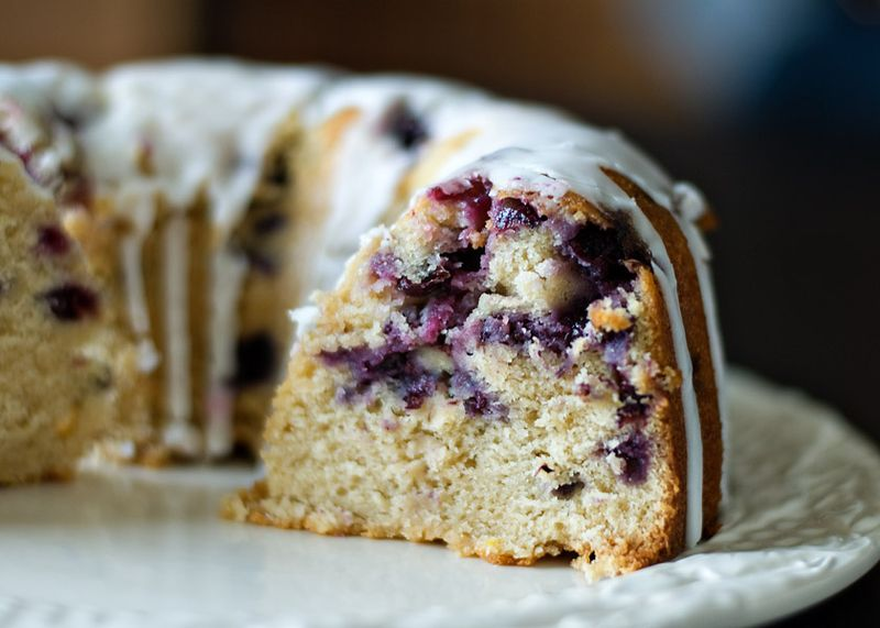 Bless Her Heart: Blueberry Tea Cake