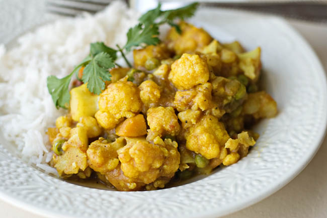 Bless Her HeartCauliflower and Potato Curry