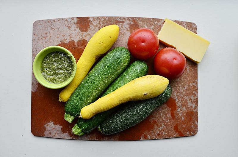 Veggies with pesto1