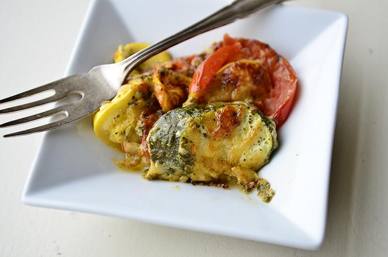 Veggies with pesto 5
