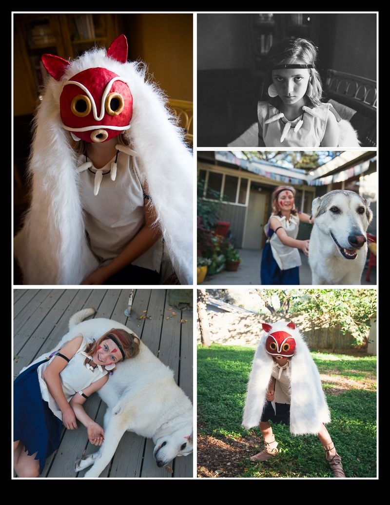 Princess Mononoke Collage