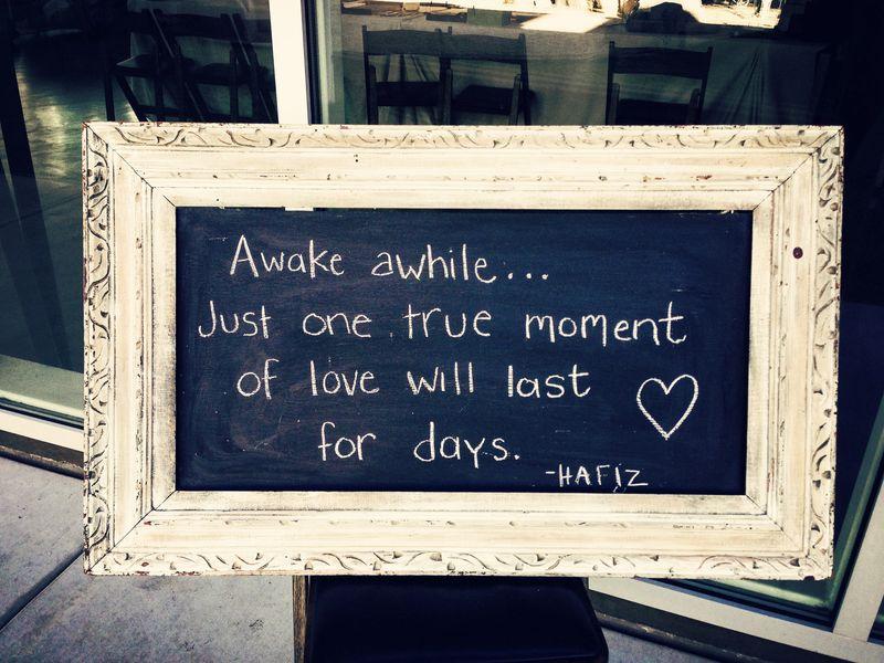 Awake awhile