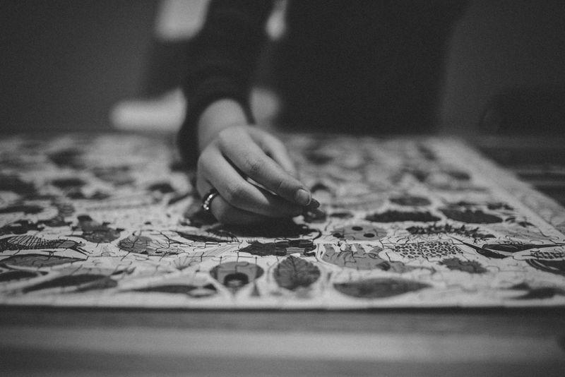 Puzzles break